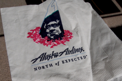 Alaska Airlines. North of Expected