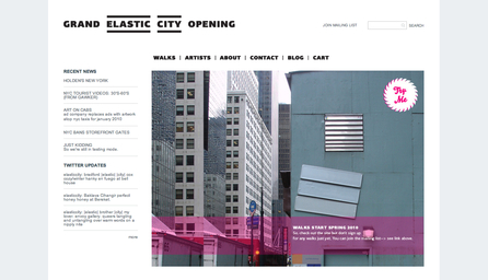 Elastic City. Reshaping New York through new walks.