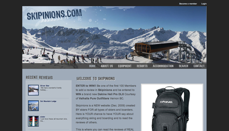 skipinions.com - ski, snowboard, ski resort and accommodation reviews