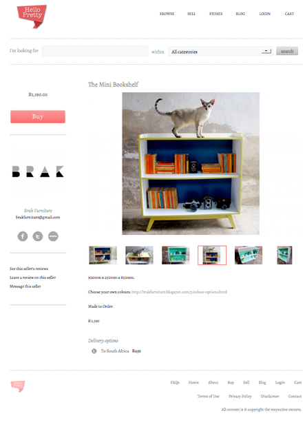 Hello Pretty South Africa product page